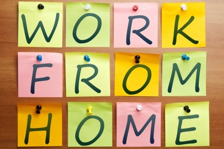 Work From Home Sticky Notes